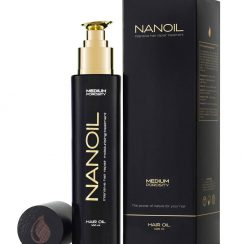 healthy hair with Nanoil